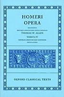 The Odyssey, Books 13-24 (Oxford Classical Texts: Homeri Opera, Vol. 4)