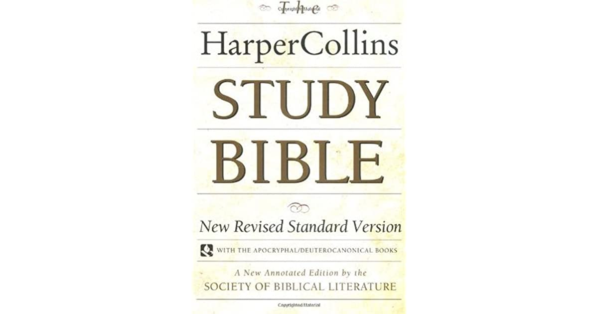 (Epub Kindle) The HarperCollins Study Bible Fully by ...