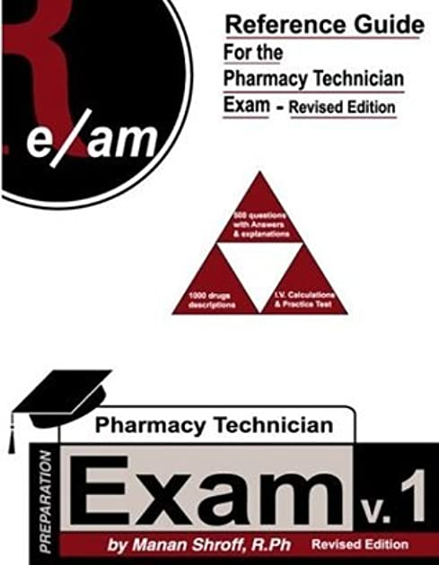 reference guide for pharmacy technician exam revised edition by rh goodreads com Pharmacy Technician Exam Schedule Certified Pharmacy Technician Exam Humor