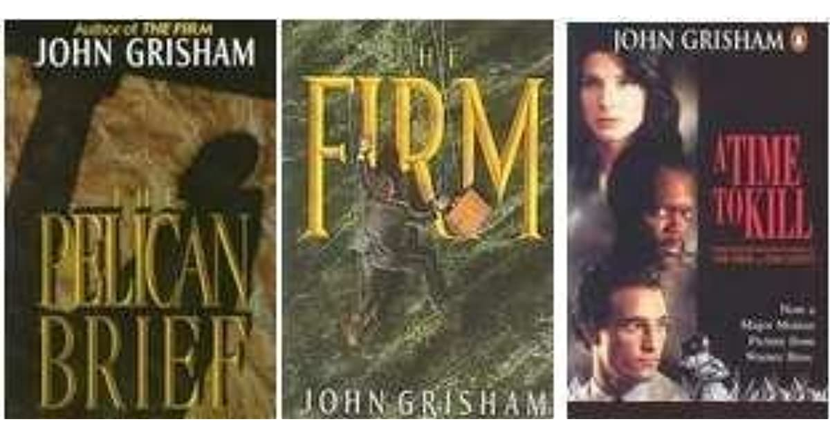 unnatural killers by john grisham why Supplementary texts week i / words & wordsmiths / historic speeches politics and the english language by george orwell  unnatural killers by john grisham.