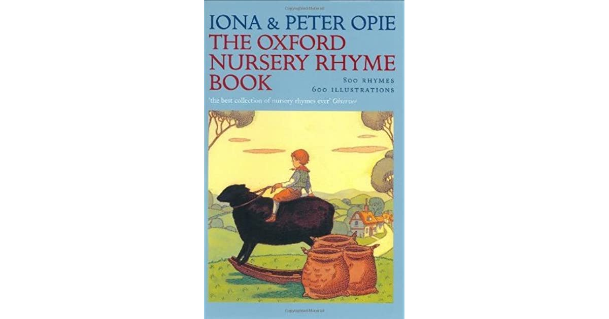 an analysis of nursery rhyme book For the littlest of readers, these nursery rhyme books introduce children to a playful and imaginative world from humpty dumpty to jack and jill, this set.