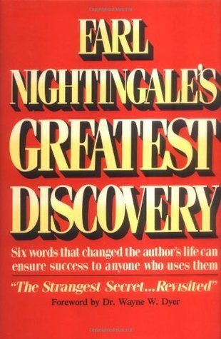 GREATEST DISCOVERY EARL NIGHTINGALE
