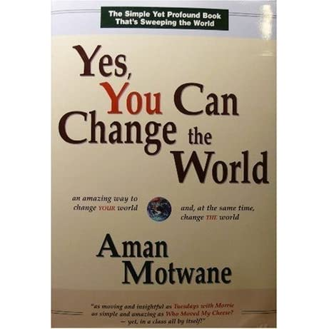 Yes I Can Change Book