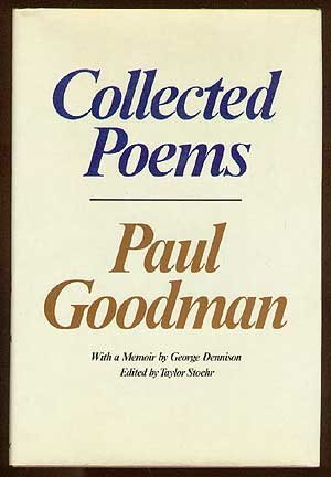 Collected Poems by Paul Goodman