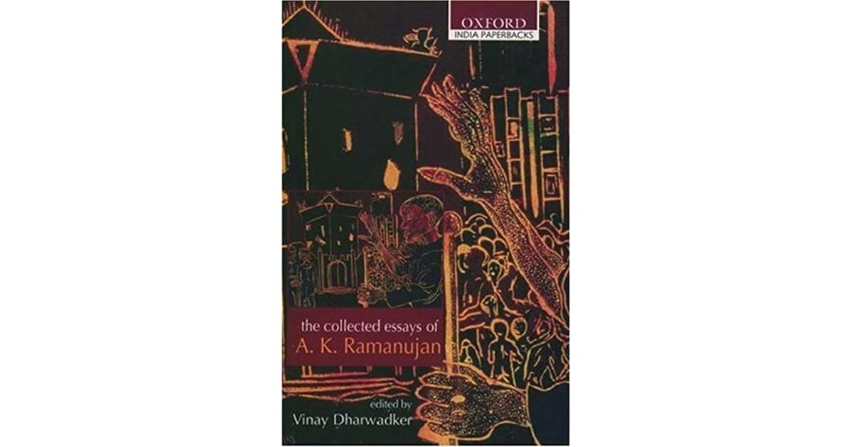 ak ramanujan essay on ramayana Essay on ramayana - give your essays to the most talented writers ramanujan essay on ramayana controversy essays, and has no epic poem.