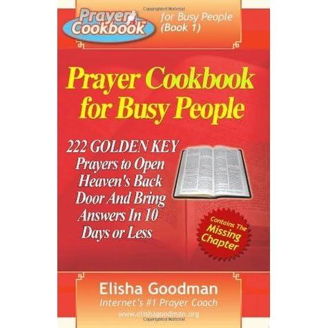 Prayer cookbook for busy people (book 3): prayer dna secrets.