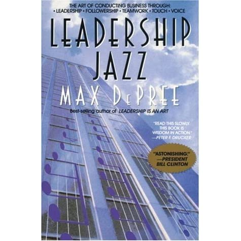 leadership is an art max depree Leadership is an art, by max depree (1989) new york: doubleday 136 pp, $1795 cloth authors andrew m lebby the performance group washington, dc.
