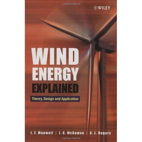 Wind Energy Explained Manwell Pdf