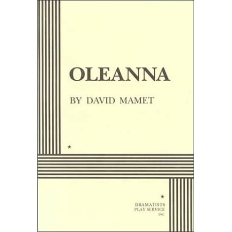 an analysis of the ending of oleanna a play by by david mamet