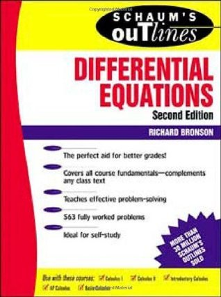 Outline of differential equations
