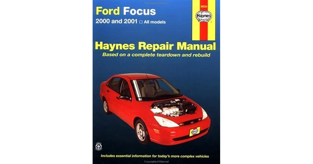 Bestseller  2001 Ford Focus Maintenance Manual