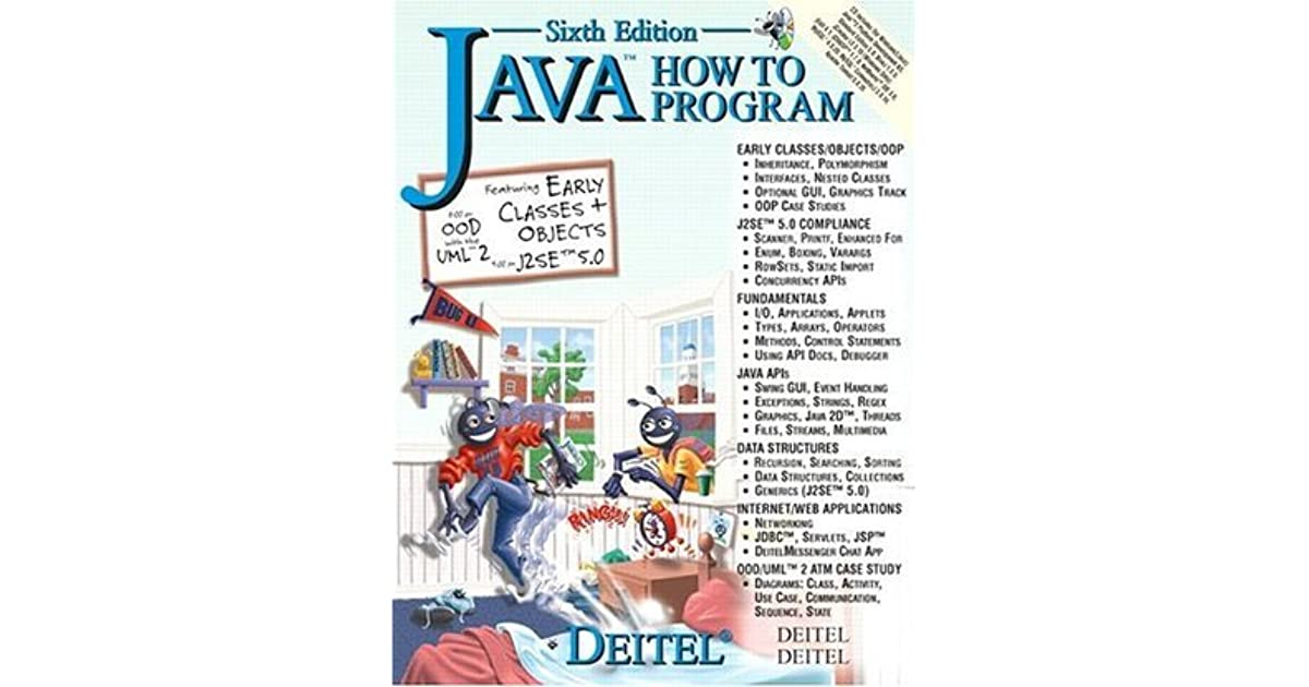java how to program early objects (11th edition) (deitel how to program)