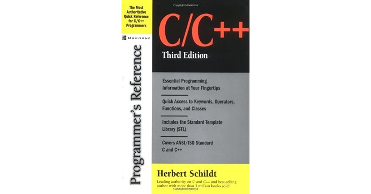 C Complete Reference Herbert Schildt Pdf Free Download Watervegalo