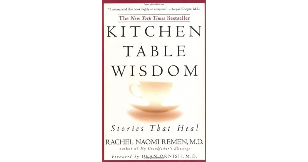 Kitchen Table Wisdom Pdf