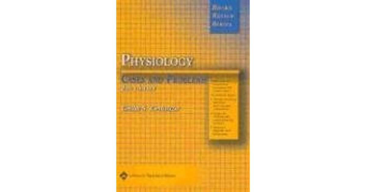 Brs Physiology Cases And Problems Edition