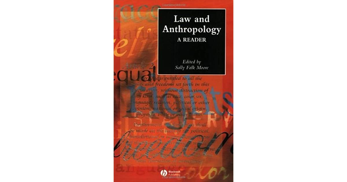 A Reader Law and Anthropology