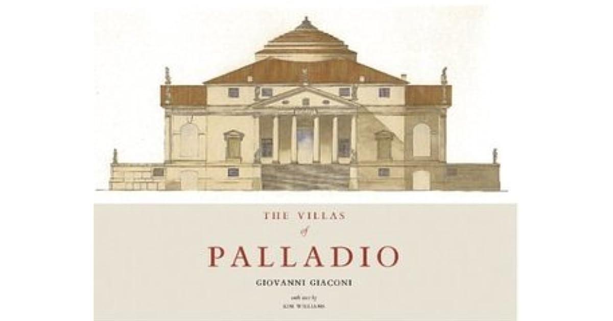 The villas of palladio by giovanni giaconi fandeluxe Gallery
