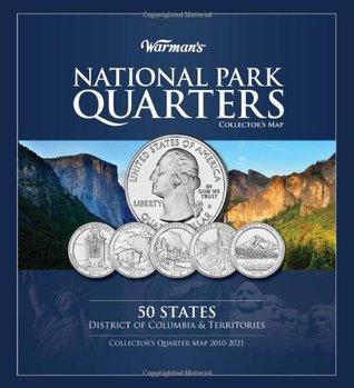 National Park Quarter Collection Book Folder Map