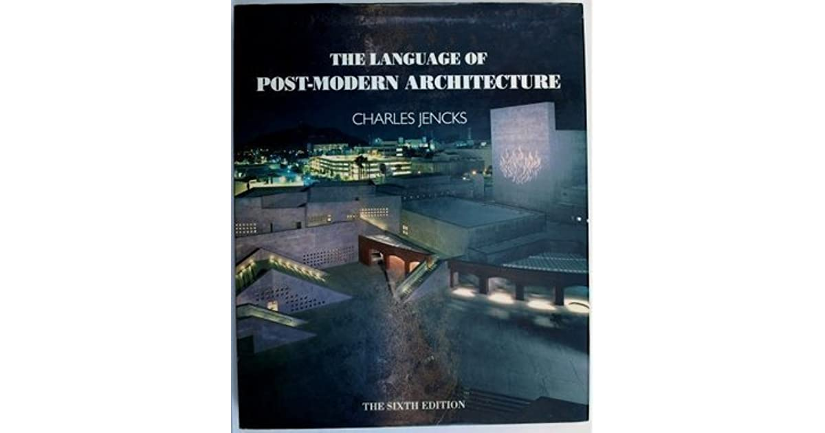 Language Of Post Modern Architecture 6 By Charles Jencks