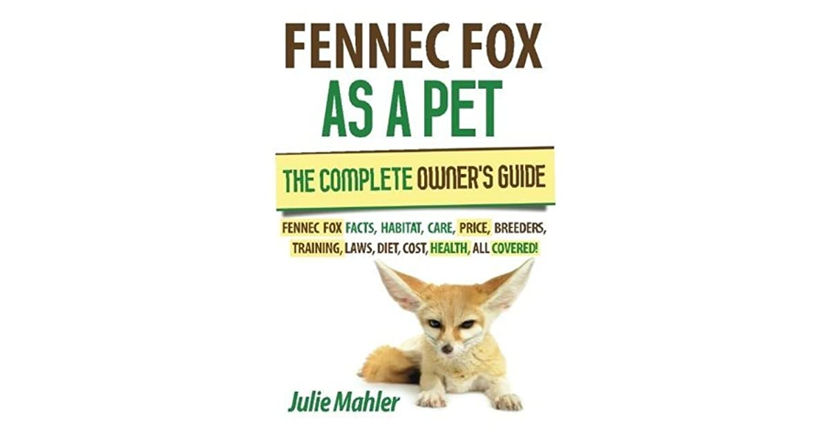 Fennec Fox As A Pet The Complete Owner S Guide Fennec Fox Facts Habitat Care Price