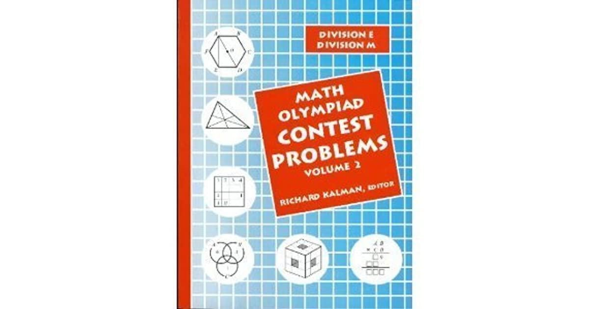 Math Olympiad Contest Problems, Volume 2 by Grant Duffrin