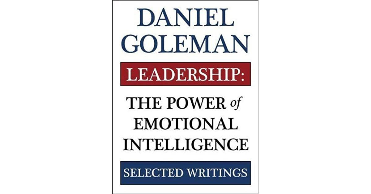 Leadership goleman inteligenta daniel pdf in emotionala