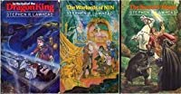 In the Hall of the Dragon King / The Warlords of Nin / The Sword and the Flame (The Dragon King Trilogy #1-3)
