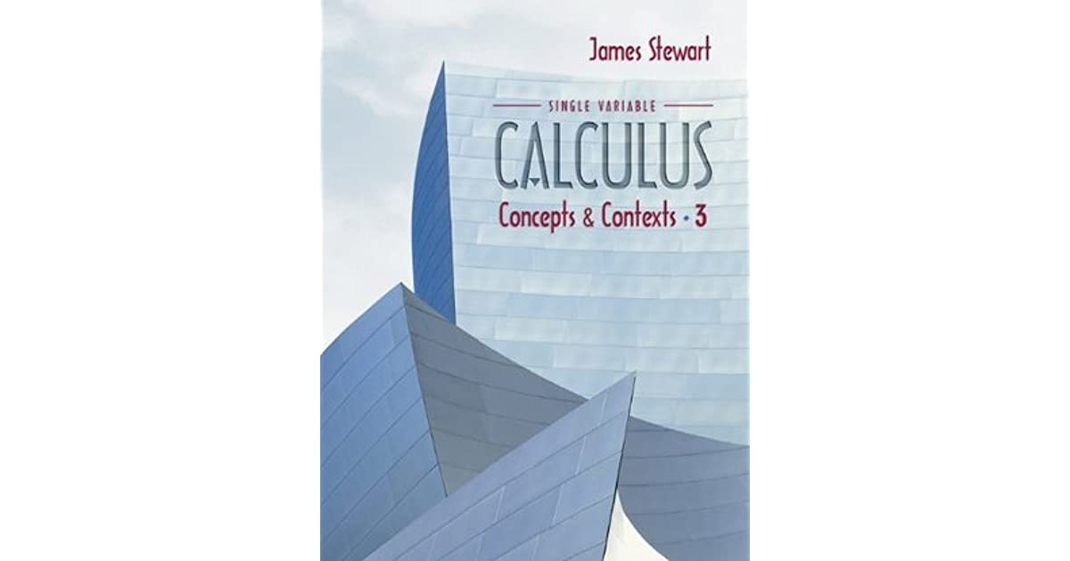 Single variable calculus concepts and contexts by james stewart fandeluxe Image collections