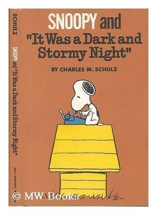 "Snoopy and ""It Was a Dark and Stormy Night"""