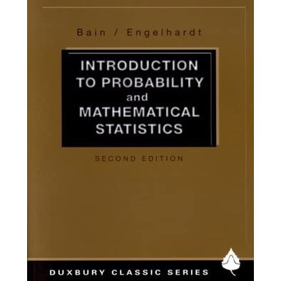 Mathematical Statistics Book Pdf