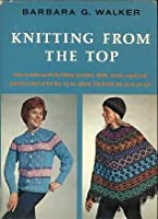 Knitting from the top book