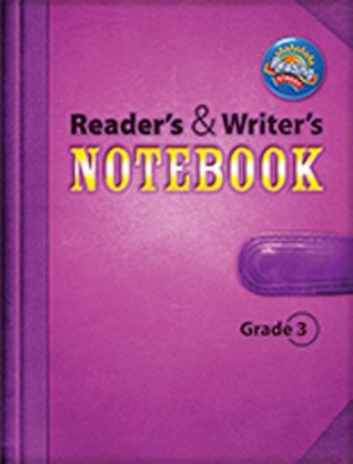 Reading 2011 Readers And Writers Notebook Grade 3 By Pearson