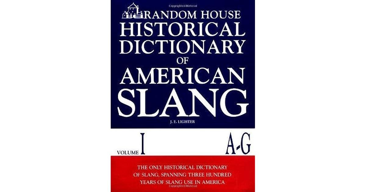 Sex Slang Dictionary