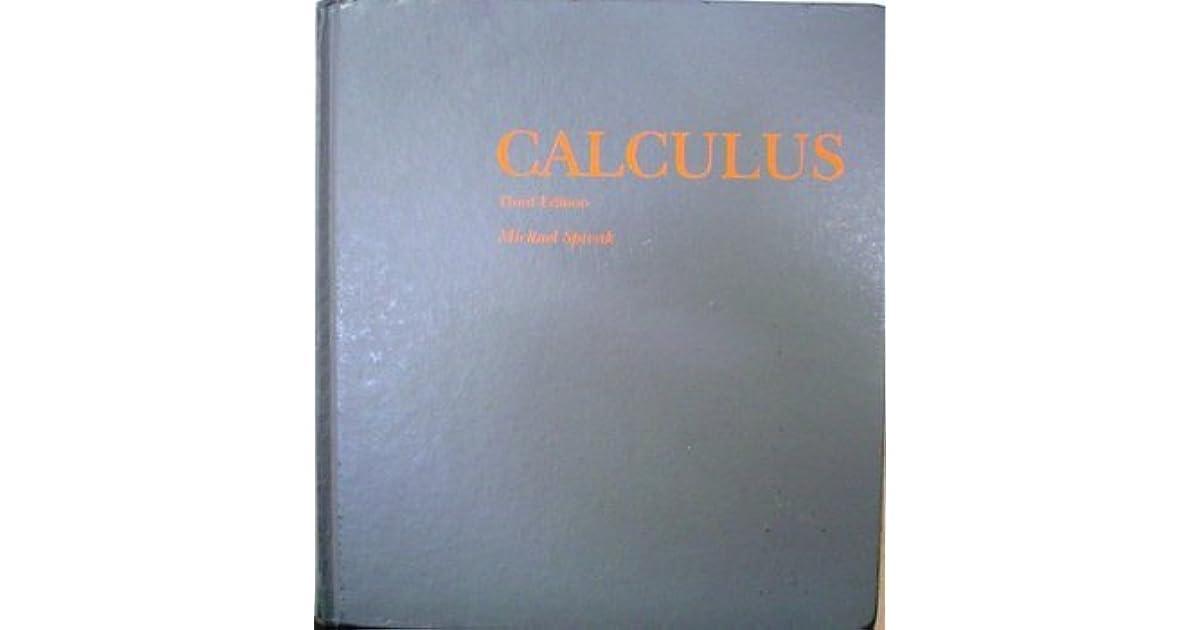 Pdf calculus spivak