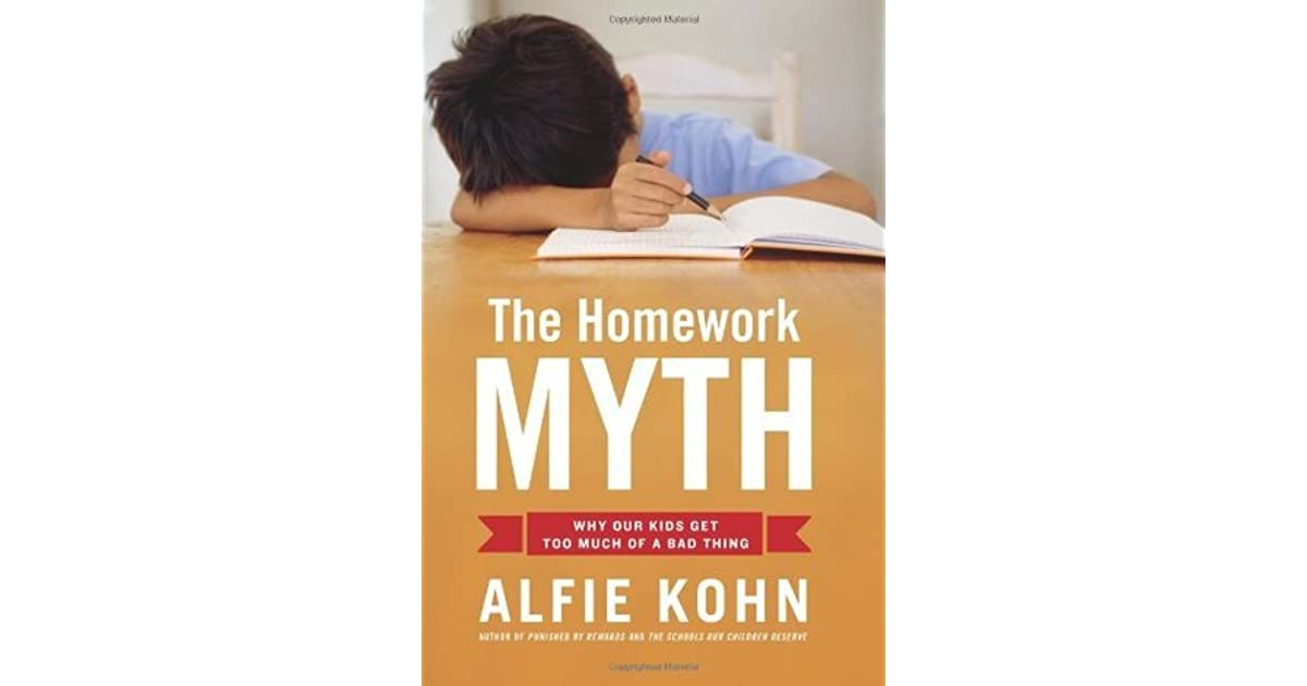 the homework myth alfie kohn summary