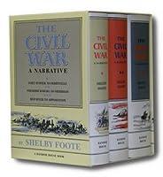 The Civil War: A Narrative [3 Volumes, Slipcased]