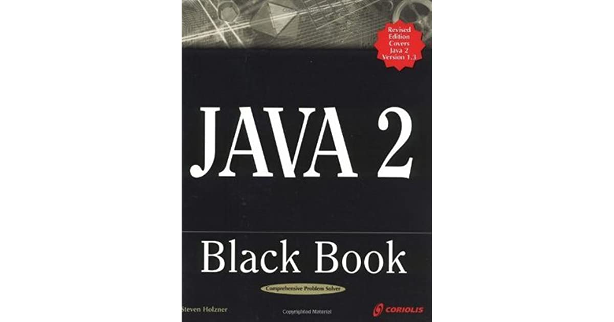Java Black Book Steven Holzner
