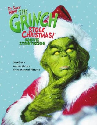 How The Grinch Stole Christmas Movie.How The Grinch Stole Christmas Movie Storybook By Louise Gikow