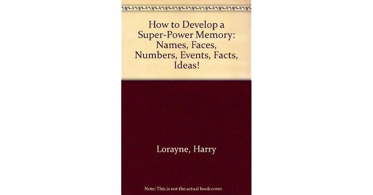super power memory by harry lorayne pdf