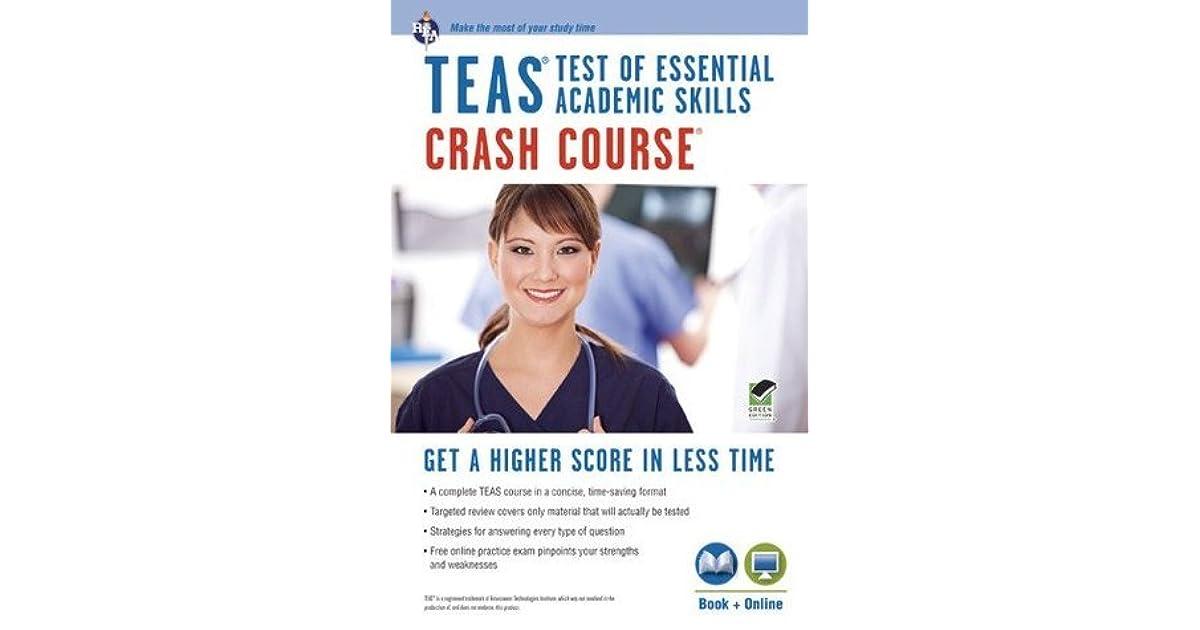 TEAS Crash Course: Book + Online Practice Test by Daniel