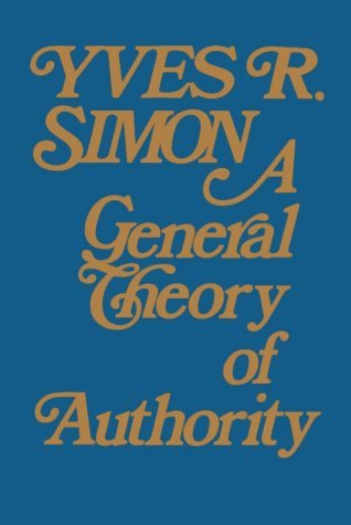 A General Theory of Authority