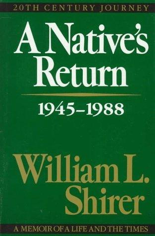 A Native's Return: 1945-1988 (20th-Century Journey, #3)
