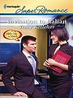 Invitation to Italian (Harlequin Super Romance)