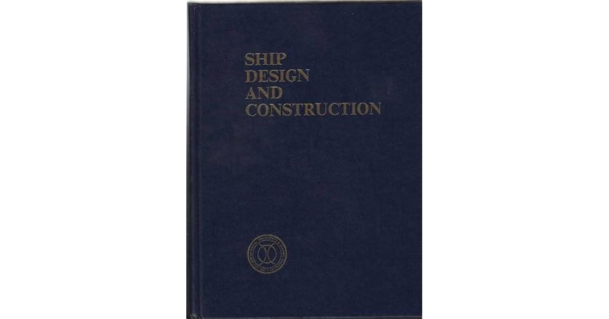 Ship Design And Construction Book