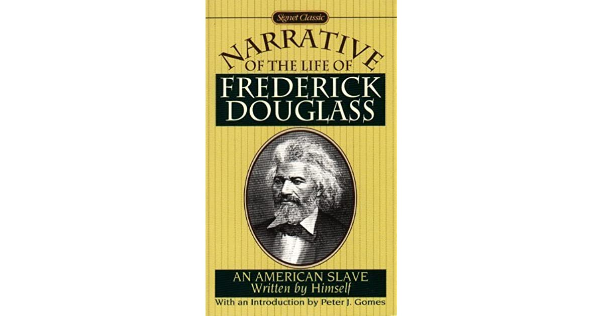 the life of frederick duglass Book summary character list summary and analysis garrison's preface full glossary for the narrative of the life of frederick douglass: an american slave.