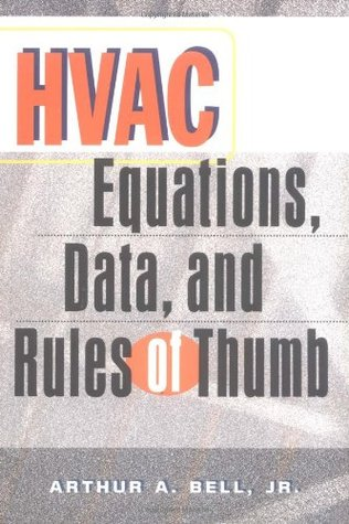 HVAC Equations, Data and Rules of Thumb