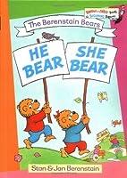 He Bear, She Bear (Bright & Early Books(R))