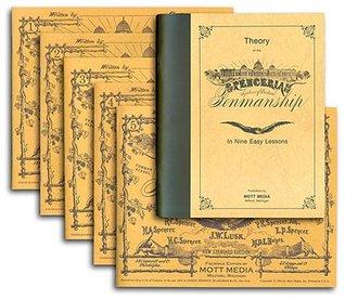 Spencerian Penmanship Theory 5 Copybooks By Platt Rogers Spencer