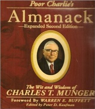 Poor Charlie's Almanack by Charles T. Munger