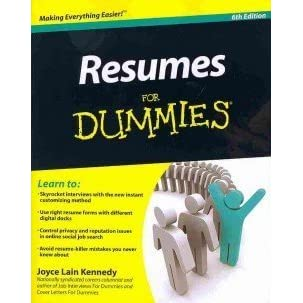 resumes for dummies 6th edition job search letters for dummies bundle by joyce lain kennedy - Resumes For Dummies